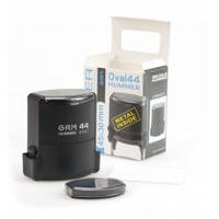 Оснастка автомат., GRAFF 44Oval, пласт., для овального штампа 45х30 мм, чорна