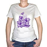 """Женская футболка """"Цветы"""""""