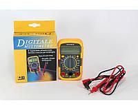 "Мультиметр DT 830 LN, 10А, цифровой, 9VDC батарея 6F22, ""Крона"", диодный тест, 600В, мультиметр цифровой"