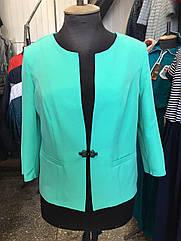 Женский пиджак летний Лиза большие размеры 50-58