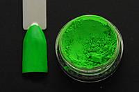 Неоновый пигмент зеленый P-018