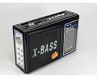 Радиоприёмник с MP3 Golon RX 177 LED с фонариком, черный, аккумуляторная батарея, Usb, MP3, FM, AM, SD