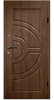 Двери АРМА Украина Т 12 96 см. правые Золотой дуб (веронит) 100% вата (304)