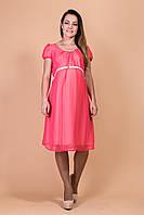 Платье для беременных шифоновое яркого