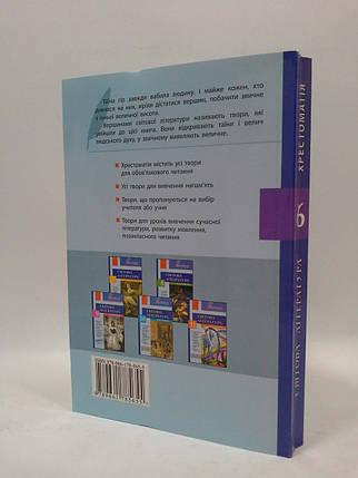 Літера ЛТД Хрестоматія Вершини Світова література 6 клас Столій , фото 2