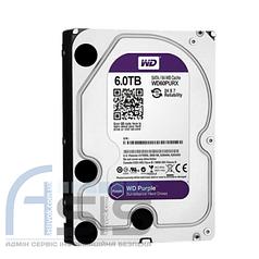 """Жесткий диск  3.5"""" 6TB  Western Digital (WD60PURX)"""