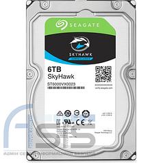"Жесткий диск  3.5"" 6TB Seagate SkyHawk (ST6000VX0023)"