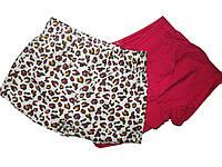 Шорты котоновые для девочек ( 2 шт. в упаковке), размеры 86/92, 98/104,  Lupilu, арт. 108001/2