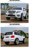 Детский электромобиль Mercedes-Benz GLK-350 Лицензионный БЕЛЫЙ