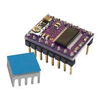 Контроллер шагового двигателя DRV8825 RepRap + радиатор