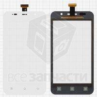 Тачскрин (сенсор) для мобильного телефона Prestigio MultiPhone 4322 Duo, белый