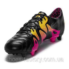 Футбольные бутсы Adidas X 15.1 FG/AG, AQ5791 Оригинал, фото 2