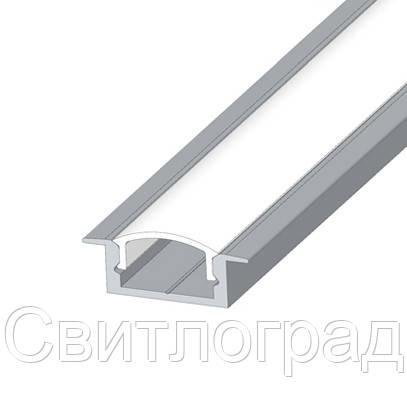 Алюминиевый профиль врезной для светодиодных лент LPV-7