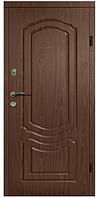 Двери АРМА Украина Т 12 86 см. левые тик темный (веронит) 100% вата (101)