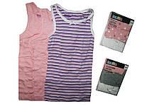 Майка для девочки, ( 3 шт. в упаковке), размеры  110/116, Lupilu, арт. 879225