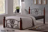 Кровать односпальная Onder Mebli Sima 90х190 Малайзия