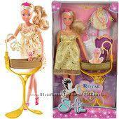 Королевский набор Беременная кукла Штеффи с люлькой 5737084