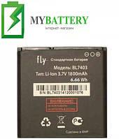 Оригинальный аккумулятор АКБ батарея Fly BL7403 IQ431 Glory | IQ432 Era Nano 1