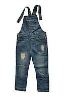 Детские комбинезон джинсовый