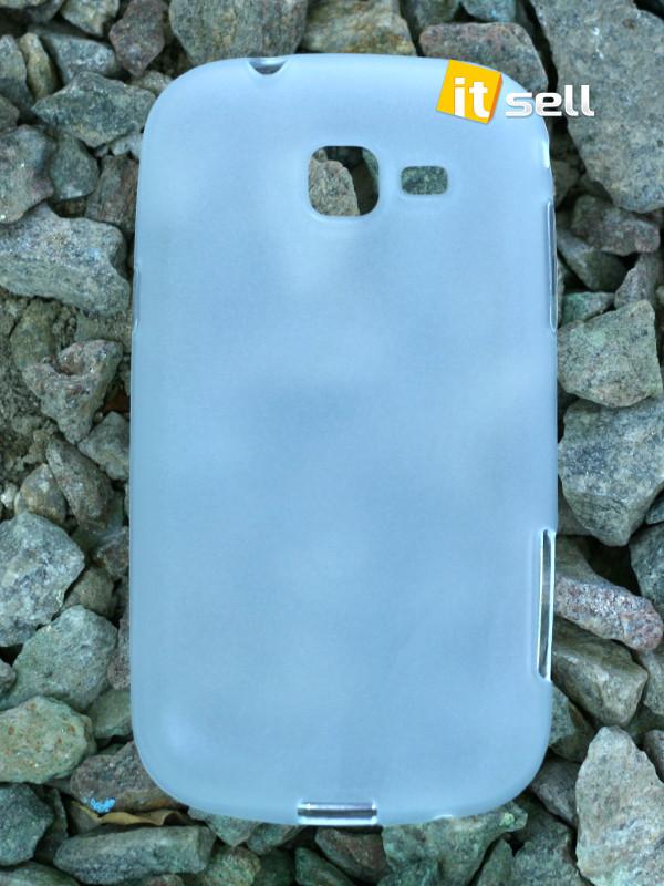 TPU чехол для Samsung S7390 Galaxy Trend Lite Бесцветный (Soft-touch)