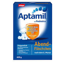 Aptamil Abendfläschchen Folgemilch - Ночная молочно-рисовая смесь для кормления после 6 месяцев, 600 г