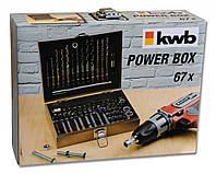Набор бит и свёрл KWB 67 предметов