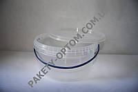 Пластиковое ведро с крышкой 10л