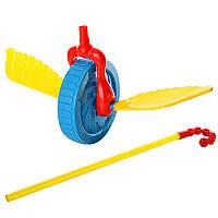 Игрушка-каталка на палке «Колесо» 0355