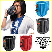 Чашка-конструктор Lego брендовая 350мл
