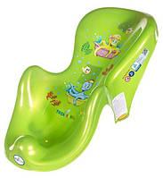 Горка для купания ребёнка «Osmiorniczka» OS-003 Tega Baby, зеленая