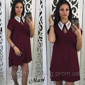 Женское стильное платье (6 цветов)
