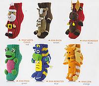 Детские носки KIDS HOMELINE ANIMALS Голубой 31/34