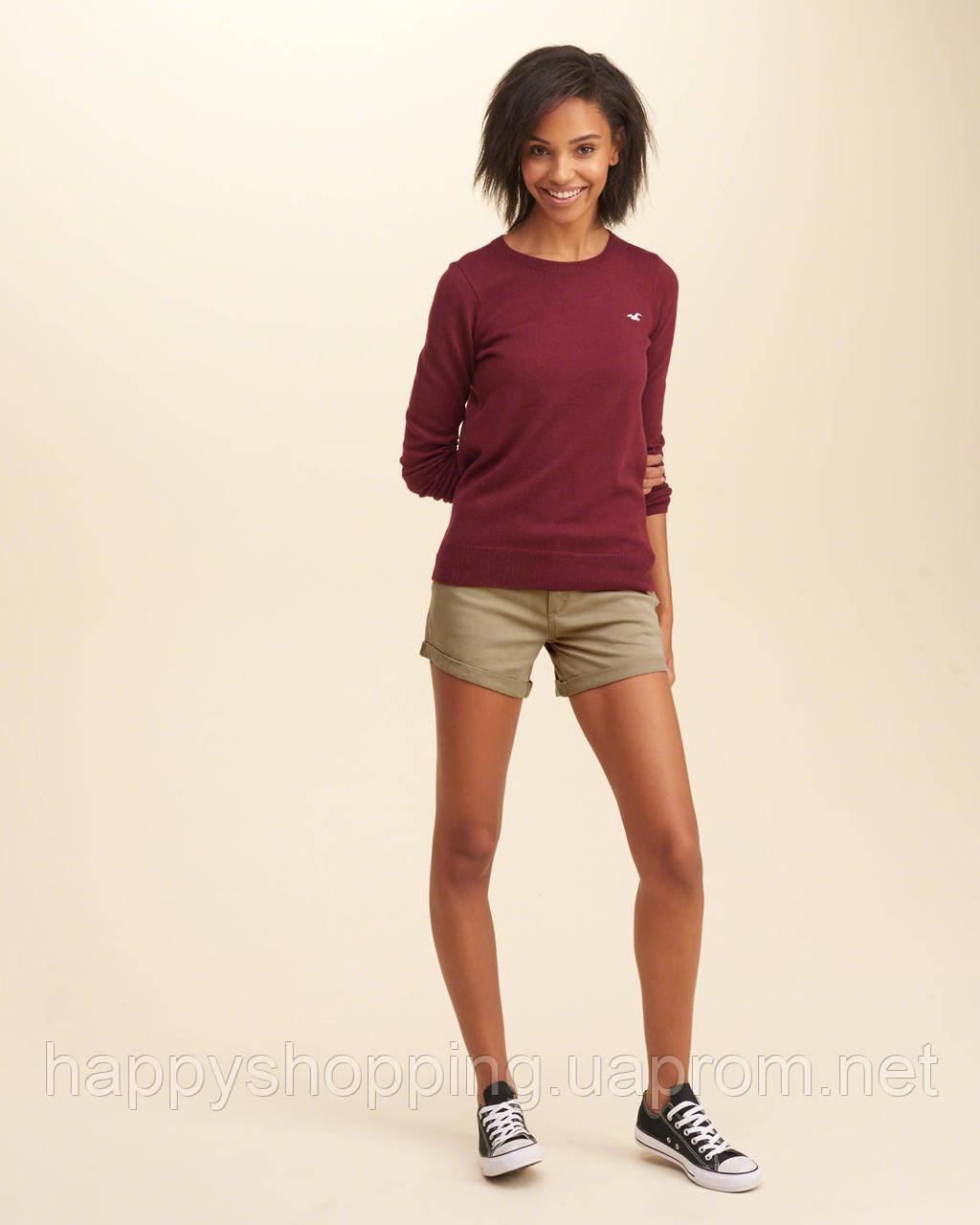 Бежевые шорты Hollister, фото 1