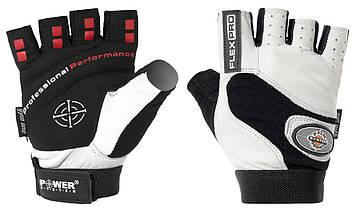 Перчатки для фитнеса и тяжелой атлетики Power System Flex Pro PS-2650 White, фото 3