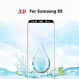 3D захисне скло для Samsung Galaxy S8 (SM-G950F) - Black, фото 2