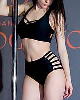 Комплект черный женский для Pole dance Zevana Spider высокий