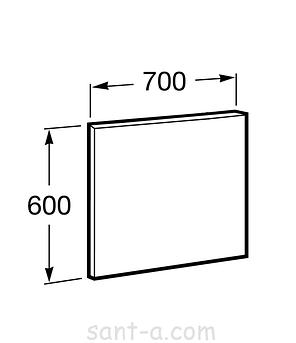 Зеркало Roca ВИКТОРИЯ 70 см,белый 856685806, фото 2