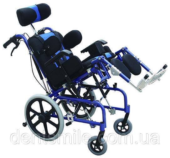 Коляска инвалидная для пациентов с церебральным параличом механическая Golfi-16