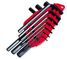 Набор ключей шестиграных STANLEY 1,5-10 мм, из 10 штук 0-69-253