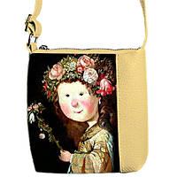 Детская сумка для девочки с принтом Девочка в веночку Гапчинская