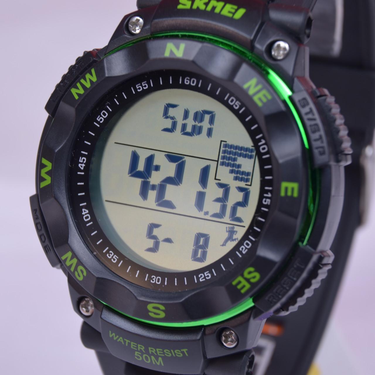 911a8789 Наручные часы SKMEI 1238-4 с шагомером (зеленые) купить в Украине ...