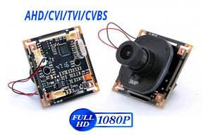 Видеокамера бескорпусная 4in1 2Mp