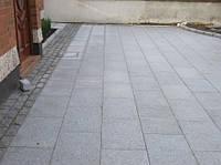 Плиты гранитные из габбро 30х15х8 см термообработанные (темно-серые)