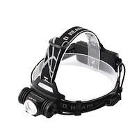 Налобный фонарь Police 01-XPE, 2 ак.18650, micro USB