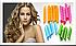 Волшебные спиральные бигуди Magic Leverage, Меджик Леверейдж Bring Оn The Curls 20 см 18 шт!Акция, фото 9