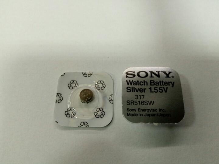 Батарейка часовая Sony SR516 (317)