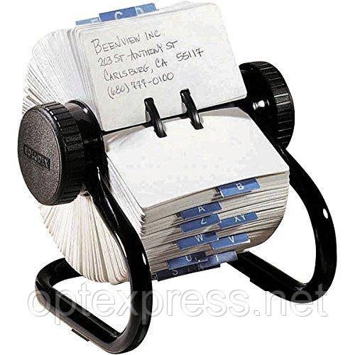 Открытая вращающаяся картотека Сlassic для 500 карточек 57х102мм ROLODEX