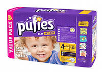 Подгузники Pufies Art&Dry Maxi Plus 4+ (9-16 кг), 40 шт.
