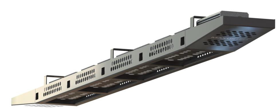 Подвесной светодиодный светильник Maxus Combee Highline 3 модуля 150W 16500Lm 5000К IP68