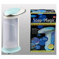 Автоматическая мыльница-дозатор Soap Magic, диспенсер сенсорная, мыльница-дозатор